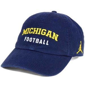 Michigan Wolverines Heritage Jumpman OSFM Cap